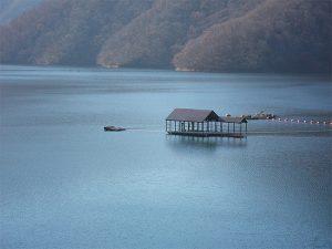 【LX-615】九頭竜湖の係船浮桟橋