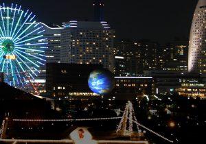 【FE-1000N】横浜開港150周年記念テーマイベント アースバルーン『HOME』