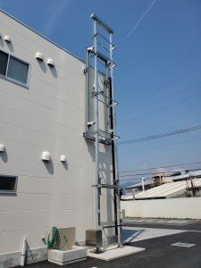 【TX-405】消防ホースを吊り干すために